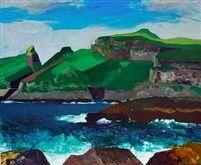 Landscape the Faroe Islands by Samuel Joensen Mikines