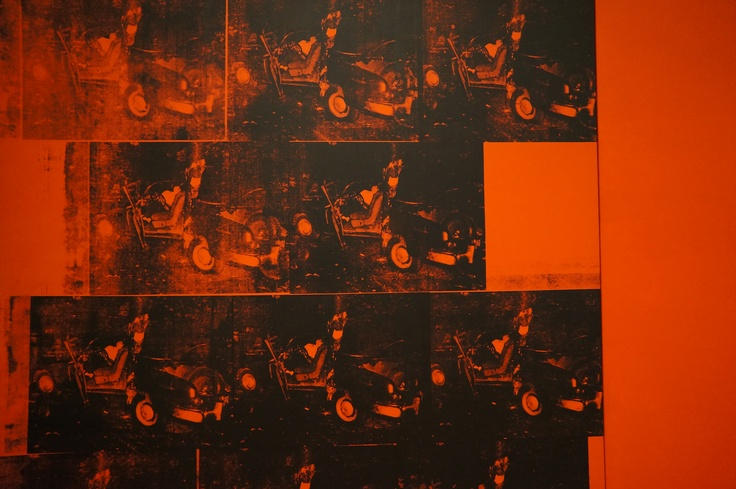 Andy Warhol Death and Disaster, MoMA New York