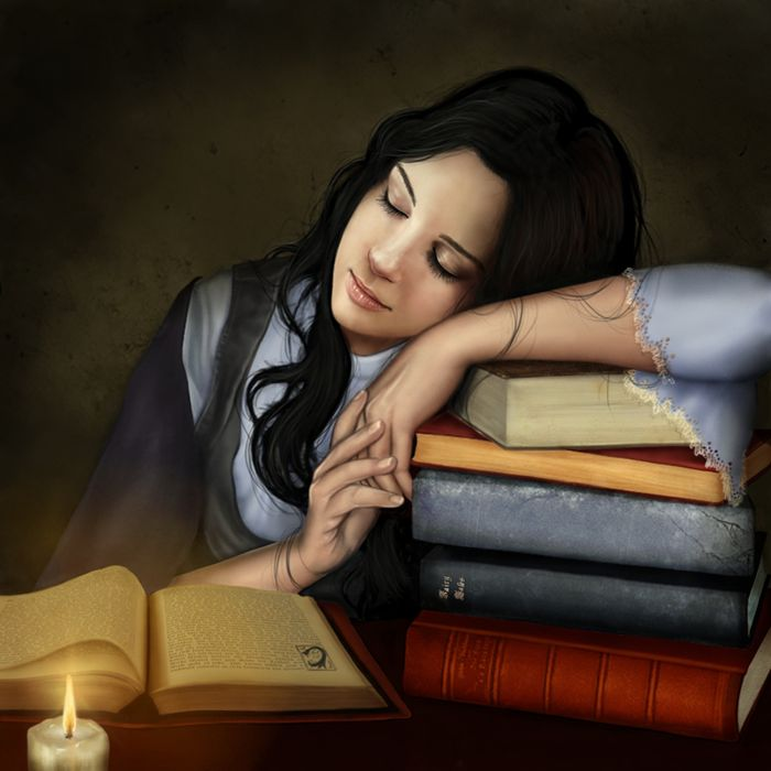 Bedtime Stories by *Cocodrillo on deviantART (a very young Fallon)