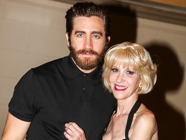 Jake Gyllenhaal & Ellen Greene in LITTLE SHOP OF HORRORS - Broadway