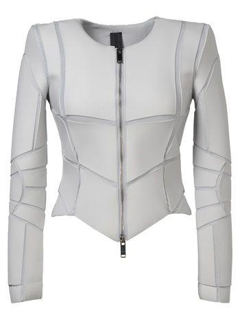Gareth Pugh White neoplai jacket..
