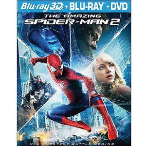 The Amazing Spider-Man 2 (3D Blu-ray + Blu-ray + DVD + Digital HD) (Widescreen)