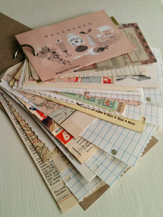 Recycled Junk Journal by VelvetSoup