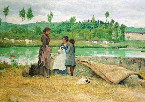 'Sull'Arno',Adolfo Tommasi