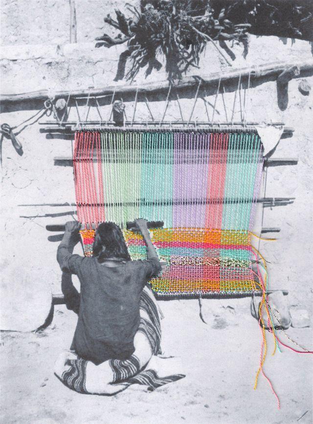 Magie met naald en draad: borduren anno 2015 - artist Mana Morimoto #borduren #embroidery #multimedia