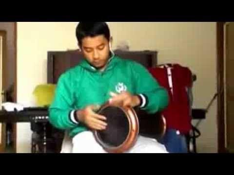 "Abdurrahman Habsyi Aha Percussion ""brown darbuka"""