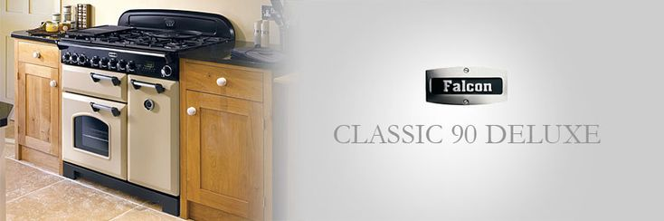 falcon classic 90 deluxe range cooker mit gaskochfeld falcon range cooker k che hausger te. Black Bedroom Furniture Sets. Home Design Ideas