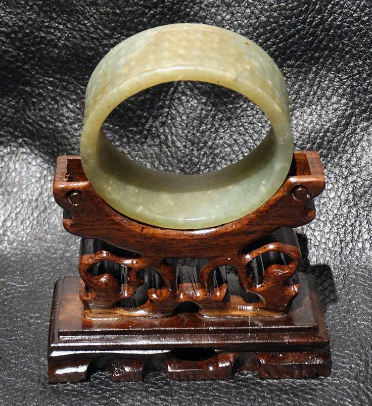 Antique Jade Carving Nephrite Grain Pattern Qing Dynasty 1800s by ElegantArtifacts on Etsy