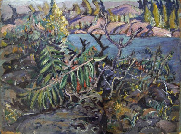 Arthur Lismer, 'Georgian Bay' at Mayberry Fine Art 12 x 16 (1935)