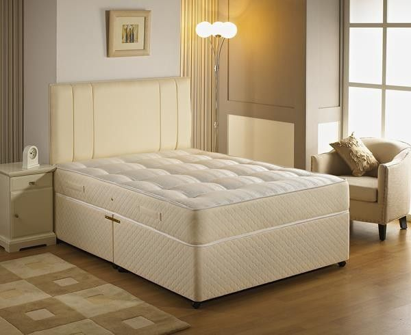 """4ft 6"""" Tuscan Orthopaedic Double Divan Bed"""