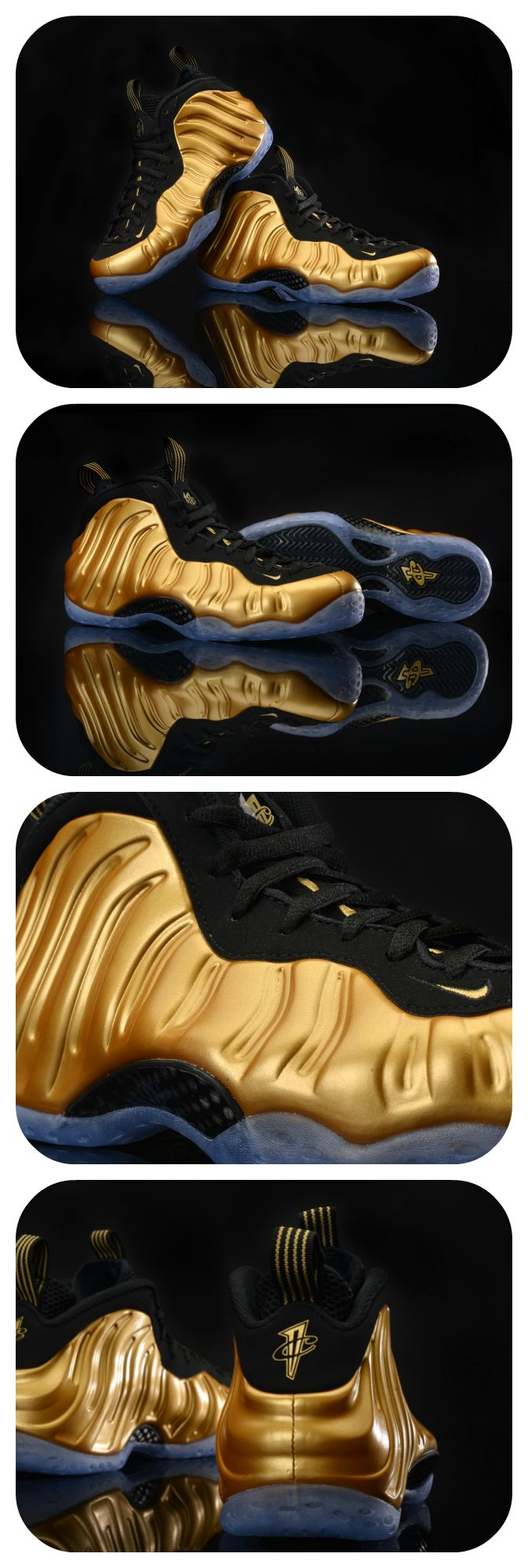 The newest Nike Air Foamposite One's are going for the gold. Cop them tomorrow. #Casual #Sneakers