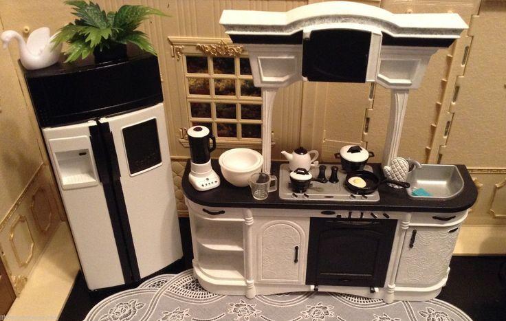 Re-Paint of Barbie Kitchen Set