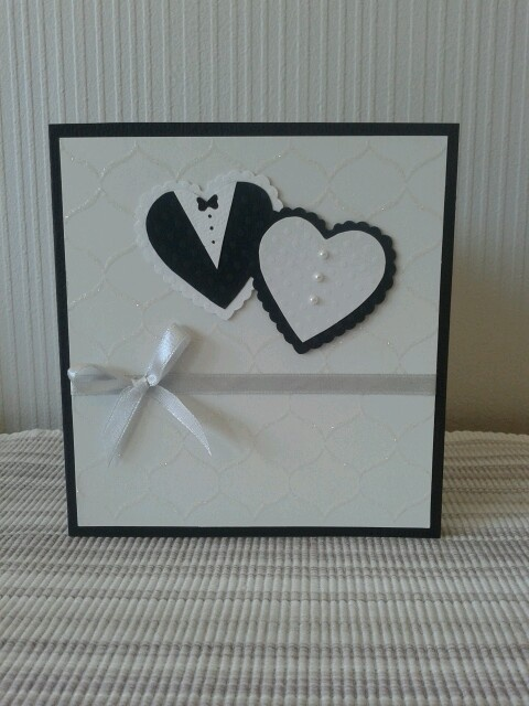 Scrapbooking - weddingcard