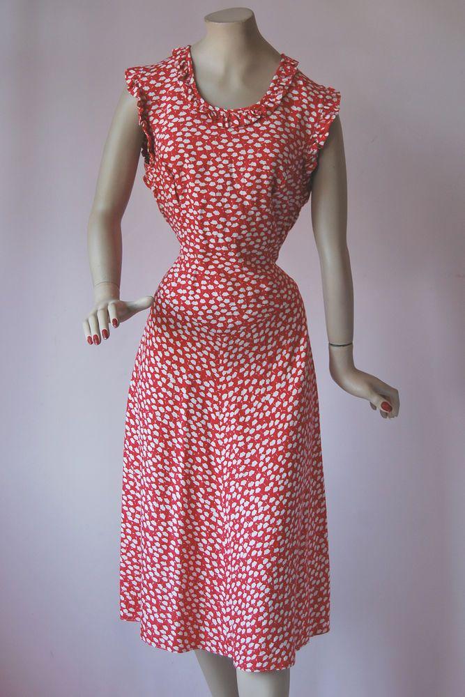 Vistoso Vestido De Cóctel 1940 Molde - Ideas para el Banquete de ...