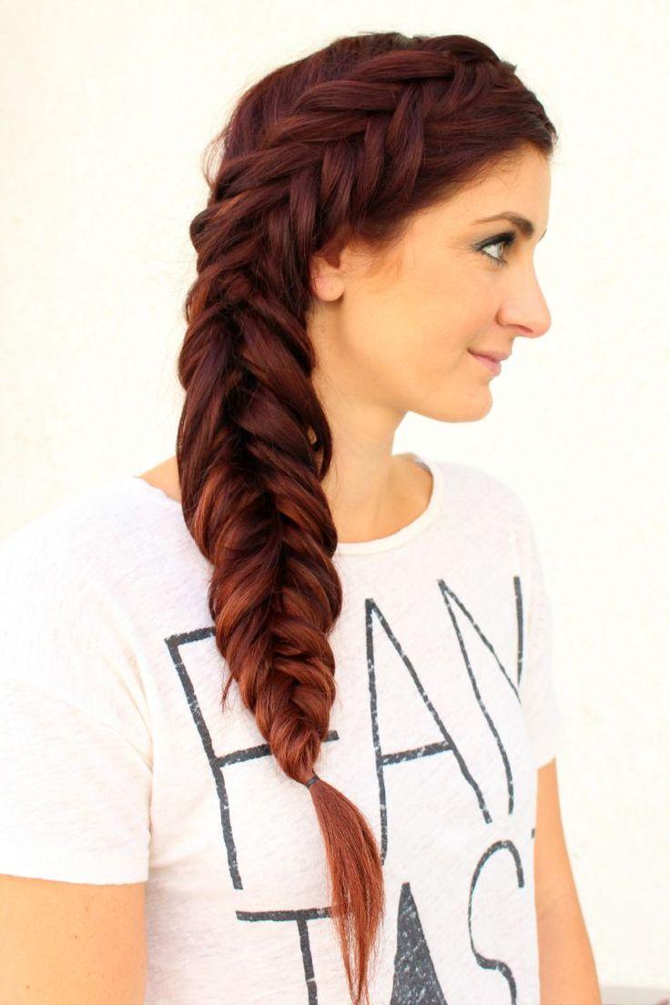 cool Как сделать стильные прически с косами? (50 фото) — Модные укладки и интересные идеи Check more at https://dnevniq.com/pricheski-s-kosami-foto/