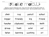 Worksheets Open And Closed Syllables Worksheets 2nd Grade 1000 images about syllables on pinterest count decoding and dr seuss