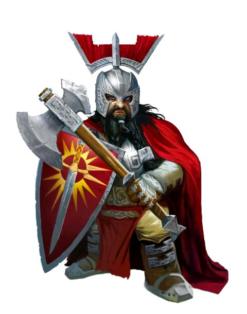 Dwarf Inquisitor of Iomedae - Kazakador - Pathfinder PFRPG DND D&D d20 fantasy