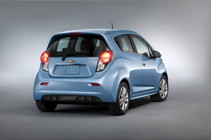 Los Angeles 2012: Chevrolet Spark EV from $ 25,000