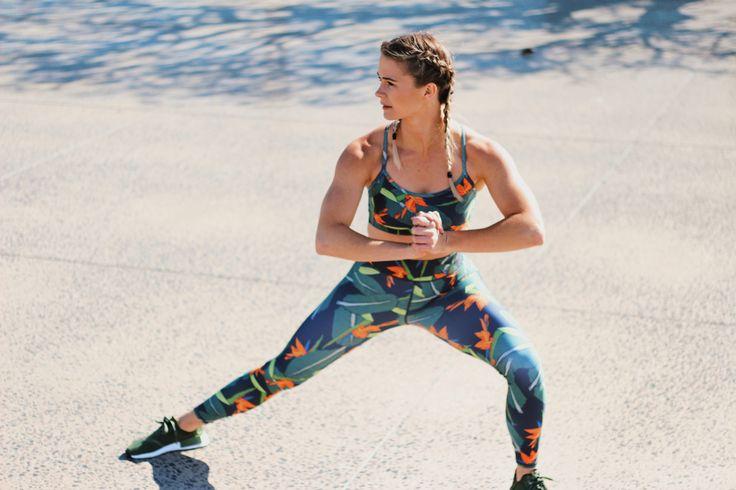 Long Strelitzia Tights  #esjay #esjaysportswear #2017range #sportswear #workout #fittness #yoga #workoutoutfit #outfit #stretch #inspiration #strong #training #motivation #health #sport #run #toned