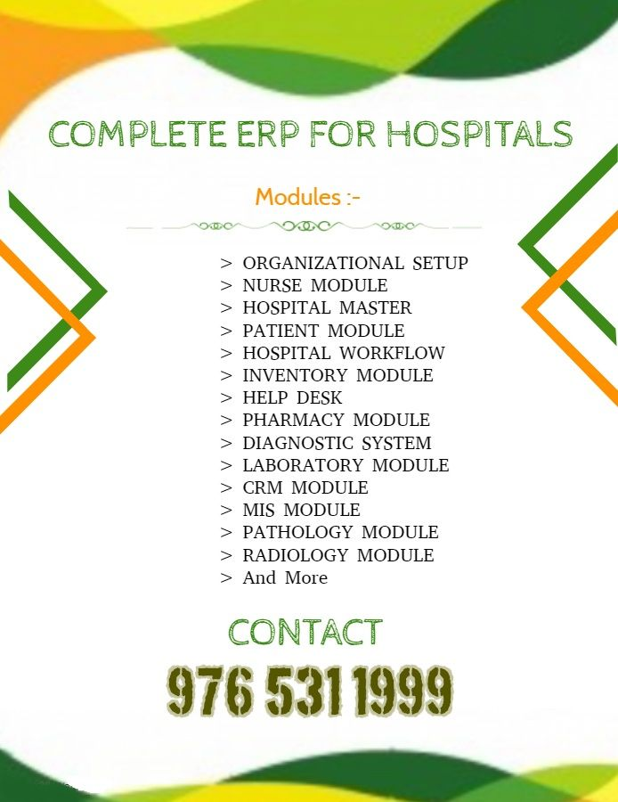 We provide hospital management system, laboratory management system