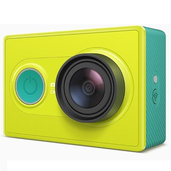 Camera Action Xiaomi Yi Travel Edition with Monopod - Green