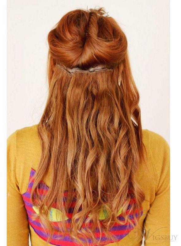 100 Human Hair Extensions Clip In  #hairextensions #virginhair  #humanhair #remyhair