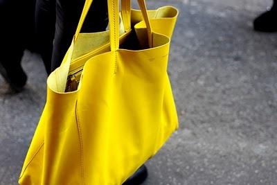Dream bag: Celine Cabas | Canary Yellow | Pinterest | Celine ...
