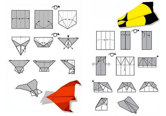 paper plane designs, fun fathers day ideas