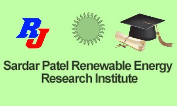 Principal Scientist Position in SPRERI, Sardar Patel Institute, Gujarat