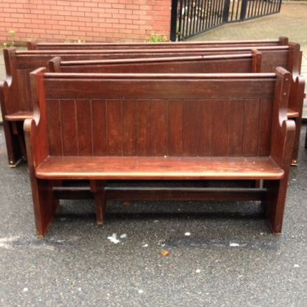 Reclaimed Pitch Pine Church Pews For Sale On Salvoweb From Architectural Forum In London Salvo