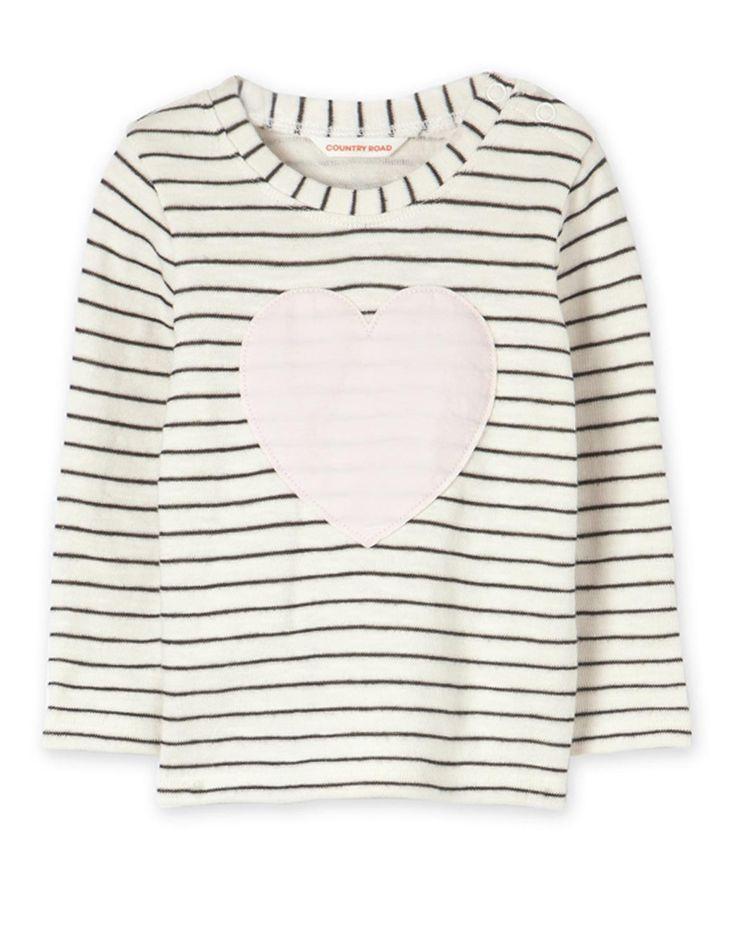 Heart Stripe T-Shirt