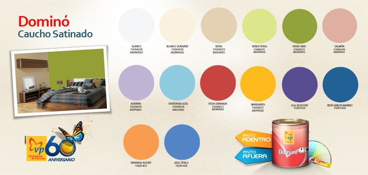 Pinturas domino catalogo de colores imagui - Catalogo colores pintura pared ...