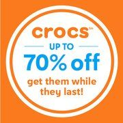 Crocs sale from $9.99