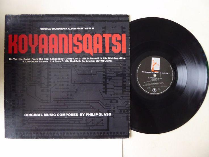 Koyaanisqatsi Original Soundtrack Album by Philip Glass Vinyl LP Island ISTA 4