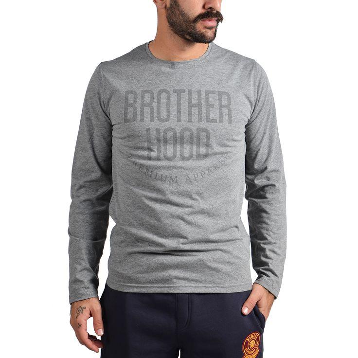 Brotherhood Tone to tone letters Longsleeve Αθλητικα Ρουχα – Sportswear – Ανδρικά Διατίθεται από το CosmosSport.gr