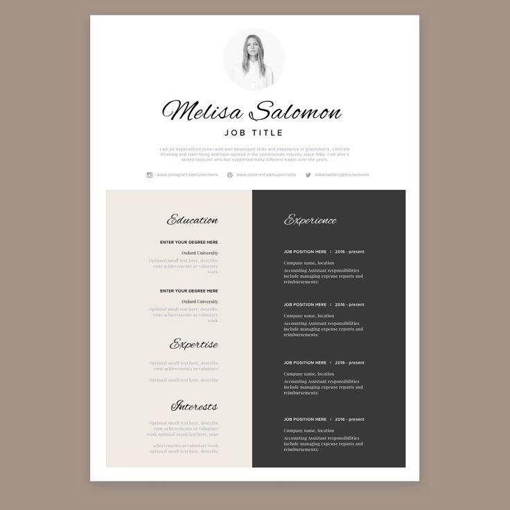 Resume resume template CV resumeediting resumeformat resumedesign