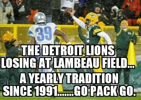 Love this, and Aaron even played with a bad leg, and the Pack still won.!!