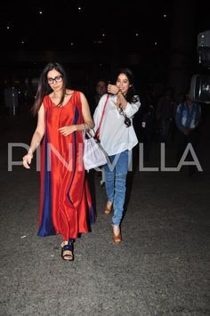 Airport Diaries: Sridevi steps out in style with daughters Jhanvi, Khushi and husband Boney   PINKVILLA