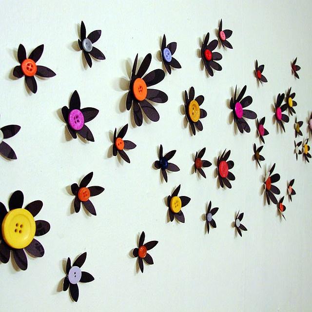 ~Knopen muur-kunst~