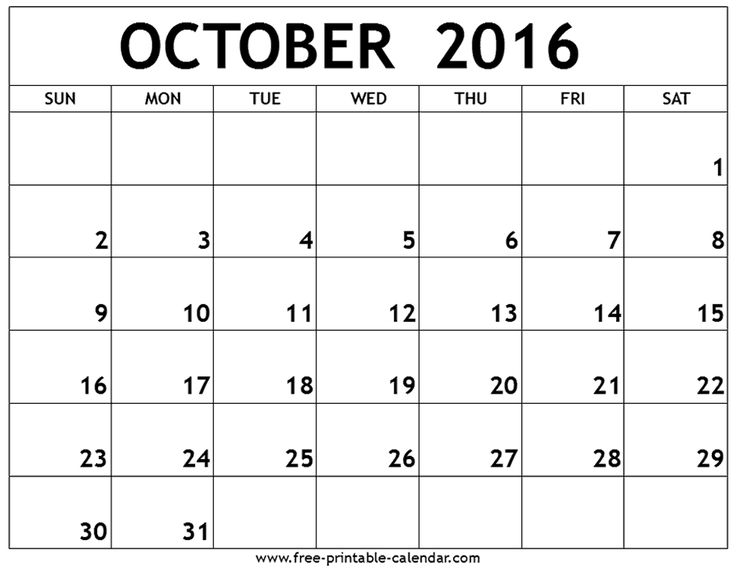 Best 25+ October month calendar 2016 ideas on Pinterest October - monthly calendar