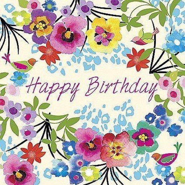 Festive Happy Birthday Flower Images For Her 2 Happy Birthday