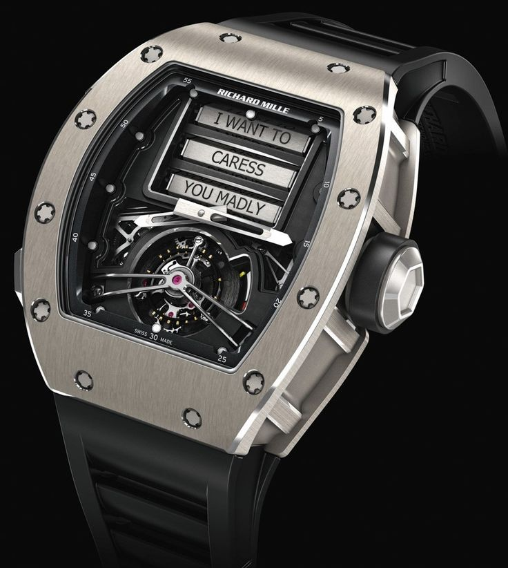News: Introducing the Richard Mille RM 69 Erotic Tourbillon. The Classiest and Most Tasteful Erotic Timepiece Out There. — WATCH COLLECTING LIFESTYLE