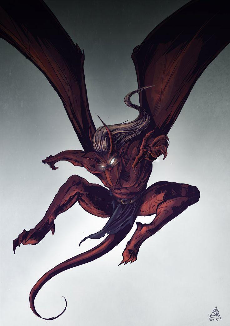 Gargoyles -Brooklyn by Skizoh on deviantART
