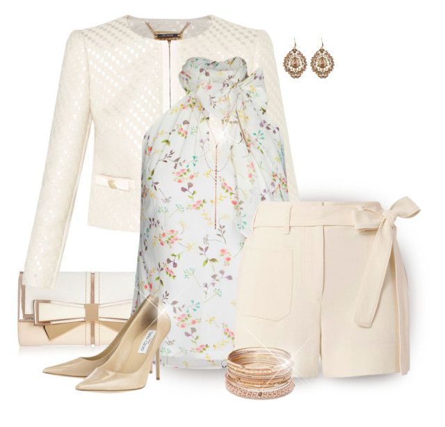 """""""Dressy Shorts"""" by stileclassico ❤ liked on Polyvore featuring River Island, Ted Baker, City Chic, Helmut Lang, Jimmy Choo, Lana, Red Camel, New Look and plus size clothing"""