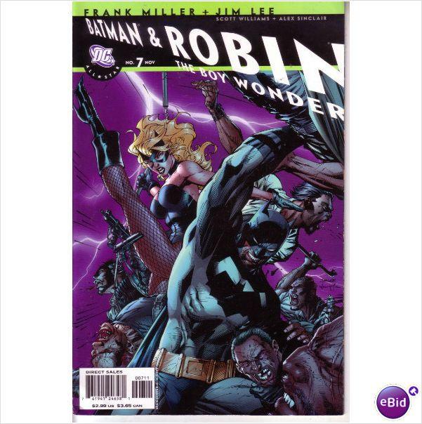 DC Comics All Star Batman and Robin #7 Nov 2007 Jim Lee Cover on eBid United Kingdom