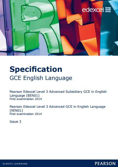 a level english coursework A-level English Language