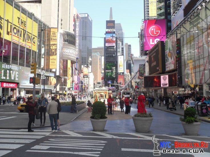 Площадь Таймс Сквер в Нью-Йорке. Times Square New York