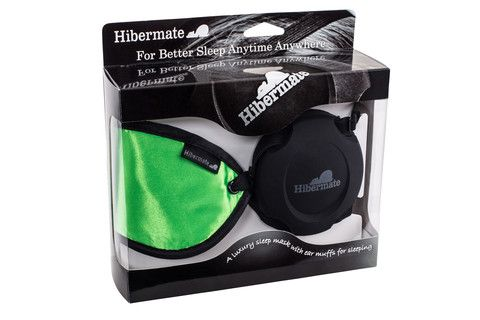 Sleep Mask with Soft Ear Muffs for Sleeping from Hibermate.com!