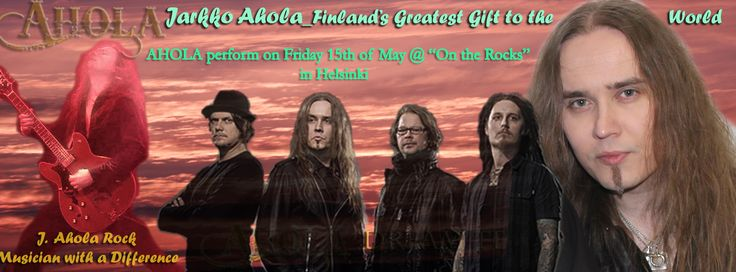 Celebrating AHOLA band's concert this May 2015