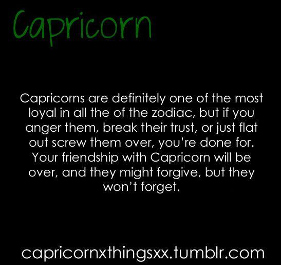 #CapricornFacts